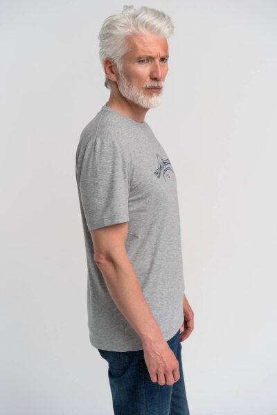 T-Shirt Γκρι