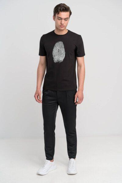 T-Shirt Μαύρο