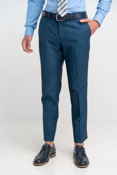 Παντελόνι Chinos Πετρόλ Comfort