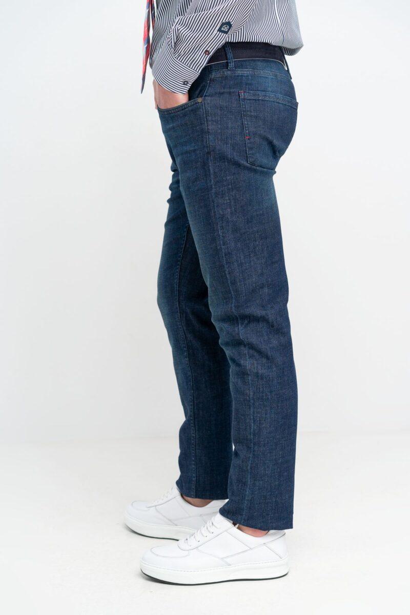 Παντελόνι Jeans 5 Pockets Denim Blue Interfit