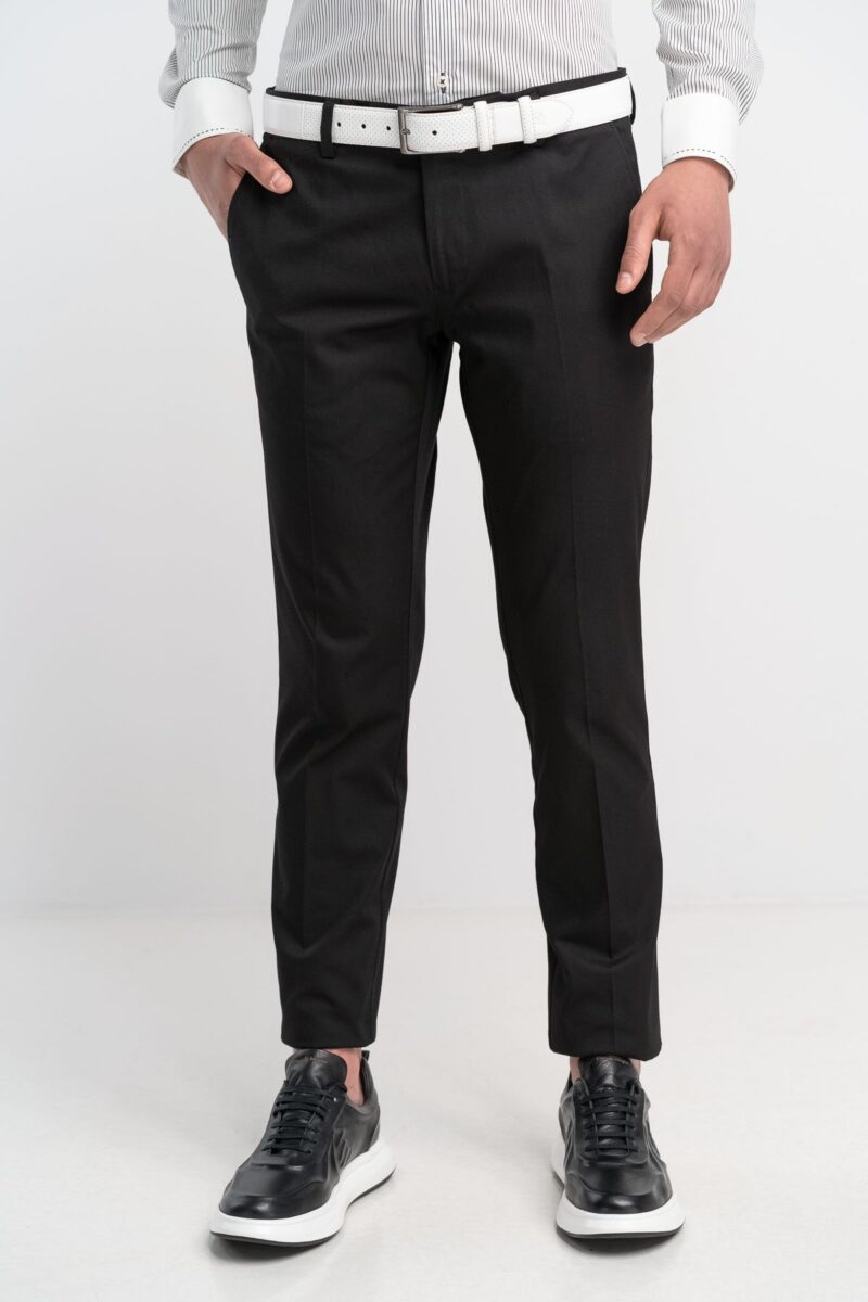Παντελόνι Chinos Μαύρο Interfit