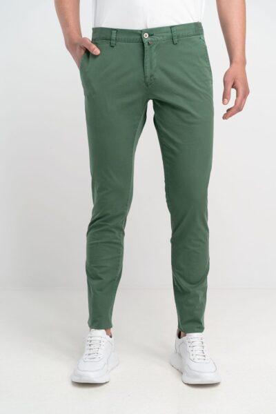 Παντελόνι Chinos Olive Green Interfit