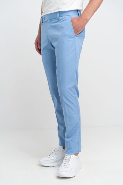 Παντελόνι Chinos Γαλάζιο Interfit