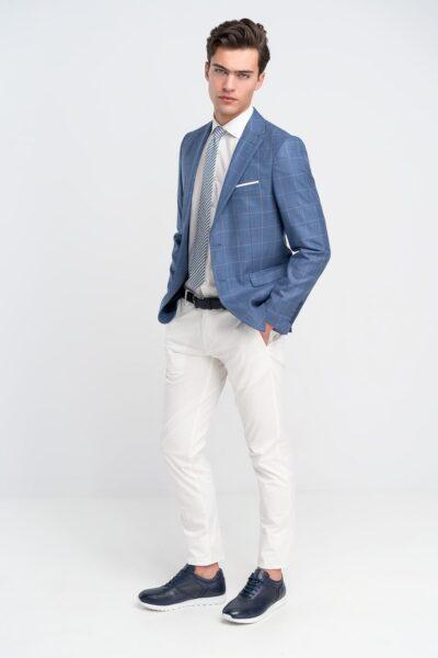 Παντελόνι Chinos Λευκό Interfit