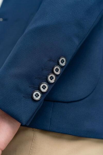 Σακάκι Μονόχρωμο Μπλε Interfit