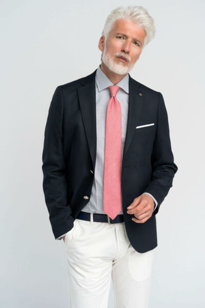 Σακάκι classic chic Blazer Μπλε Interfit