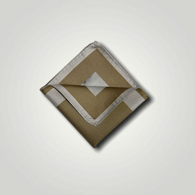 Μαντήλι Μπεζ - Ταμπά Jacquard 250-25-1350-2502-1