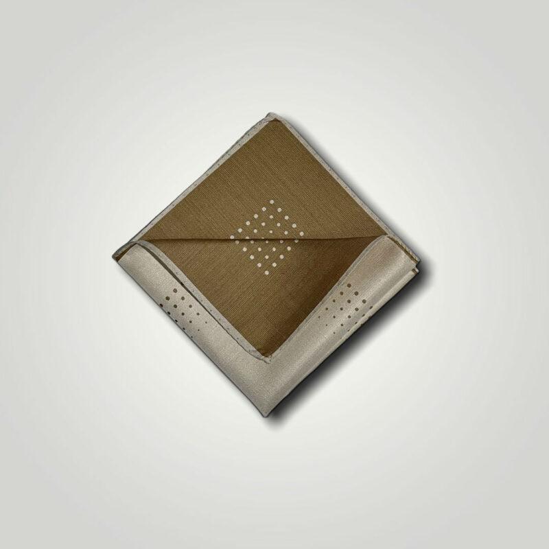 Μαντήλι Μπεζ - Ταμπά Jacquard 250-25-1350-2503-1