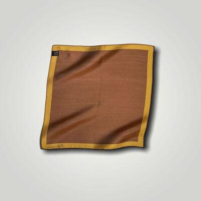 Μαντήλι Ωχρα - Κεραμιδί Jacquard 250-25-1350-2504-1