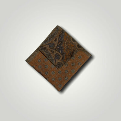Μαντήλι Καφέ - Χαλκός Print 250-25-1350-2516-1