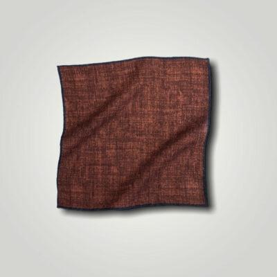 Μαντήλι Μπορντώ - Καφέ Print 250-25-1350-2521-1