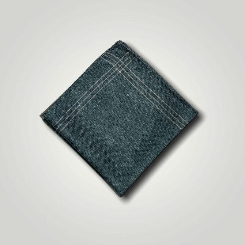 Μαντήλι Πράσινο - Μωβ Print 250-25-1350-2523-1