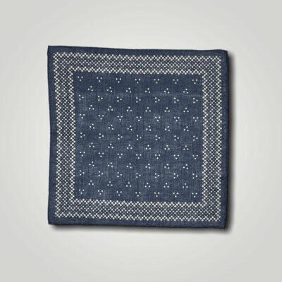 Μαντήλι Μπλε Print 250-25-1350-2529-1