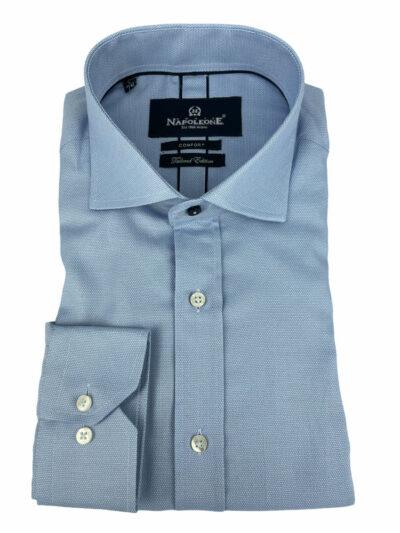 Πουκάμισο Γαλάζιο Μονόχρωμο 300-30-2295-3231-3 Comfort