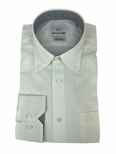 Πουκάμισο Λευκό Μονόχρωμο 300-30-2450-3273-1 Comfort