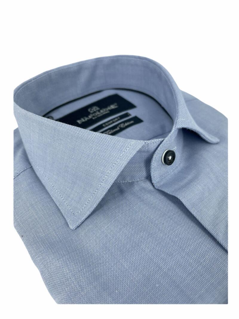 Πουκάμισο Γαλάζιο Μονόχρωμο 300-30-2650-3372-2 Comfort