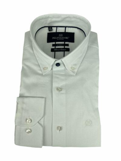 Πουκάμισο Λευκό Μονοχρωμο 300-31-2675-3366-1 Interfit