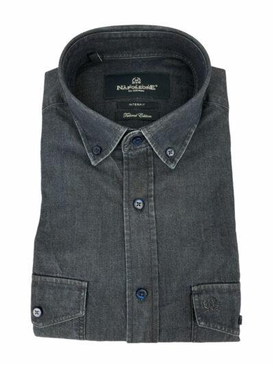 Πουκάμισο Μπλε Jeans 300-31-2885-3306-4 Interfit