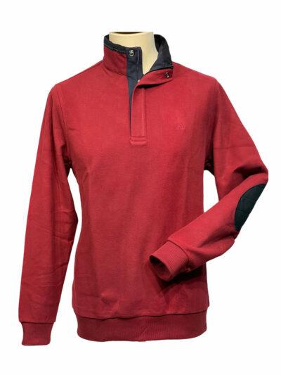 Μπλούζα τύπου πόλο Μπορντώ 500-50-3425-5106-6