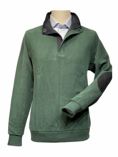 Μπλούζα τύπου πόλο Πράσινη 500-50-3425-5106-7