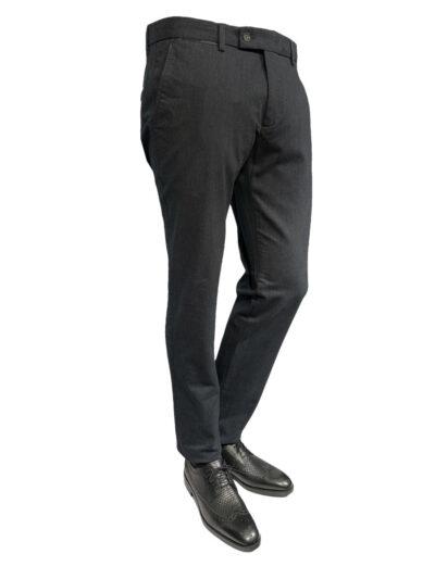 Παντελόνι Chinos Ανθρακί Comfort 600-60-3365-6143-2