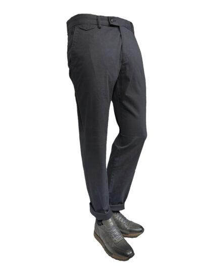Παντελόνι Chinos Ανθρακί Comfort 600-60-3365-6148-2