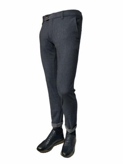 Παντελόνι Chinos Μπλε Interfit 600-61-3365-6104-6