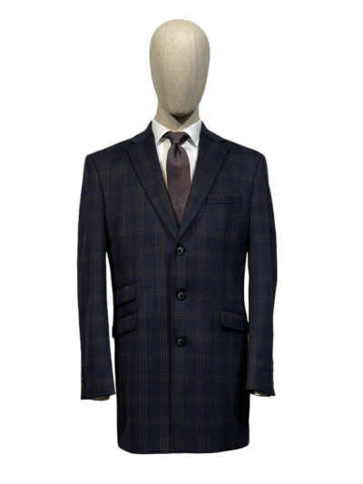 Παλτό Μπλε Μονόπετο 730-73-8845-7403-1