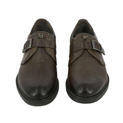 Παπούτσια Monk Strap Καφέ
