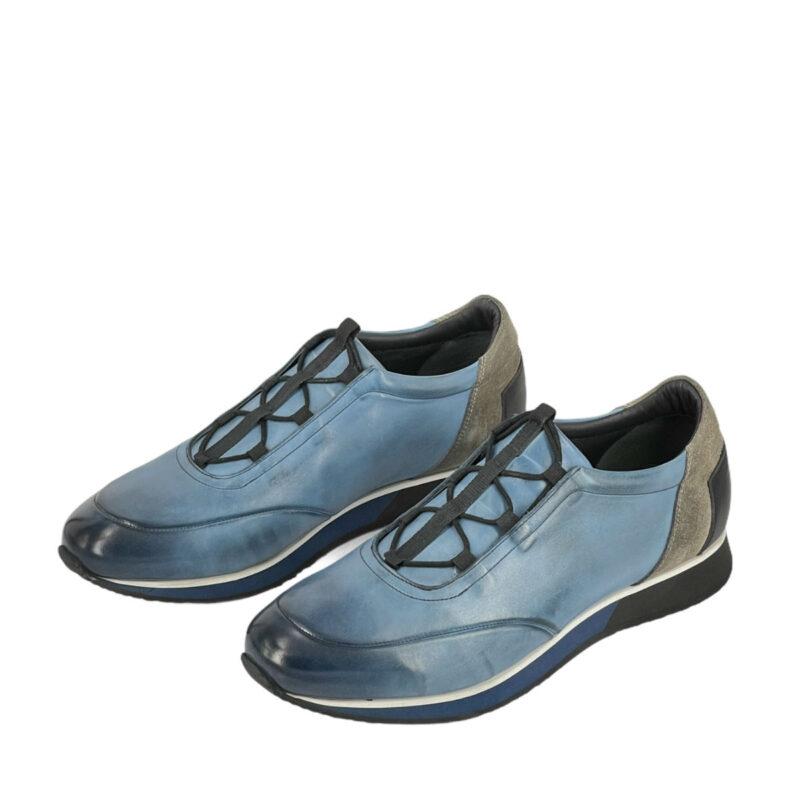 Παπούτσια Sneakers Γαλάζια