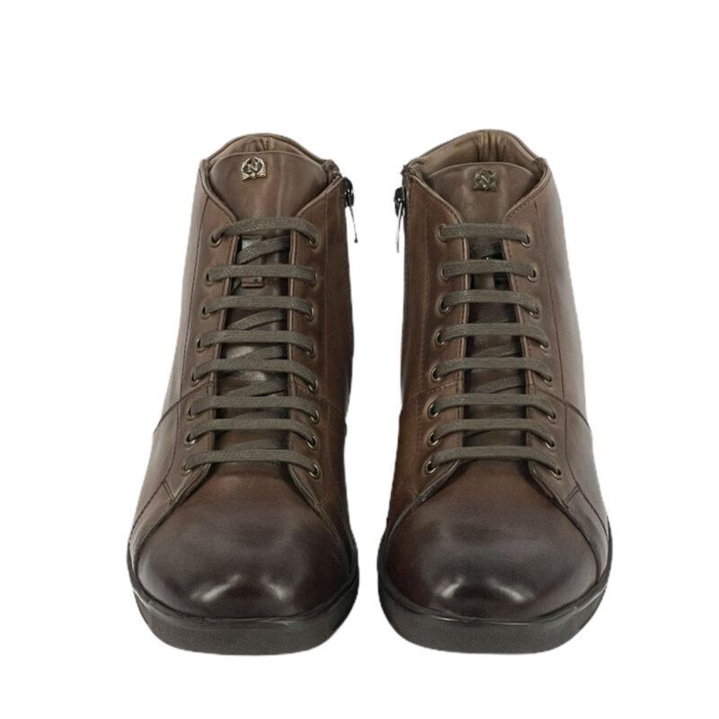 Παπούτσια Μποτάκια Καφέ