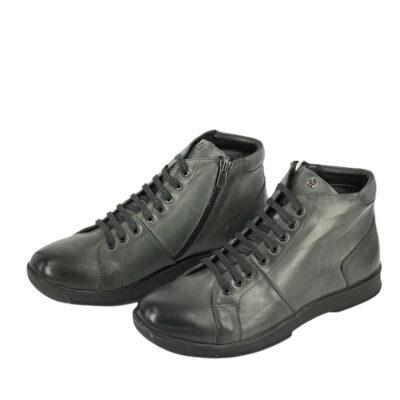 Παπούτσια Μποτάκια Γκρι