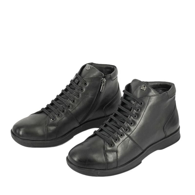 Παπούτσια Μποτάκια Μαύρα