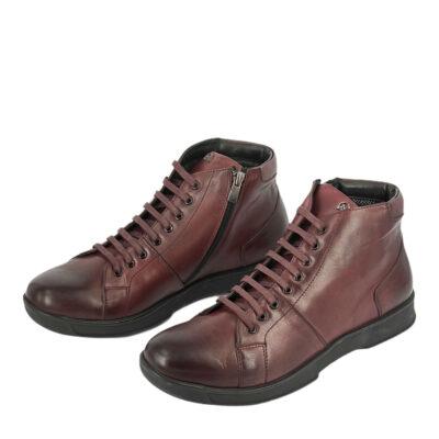 Παπούτσια Μποτάκια Μπορντό