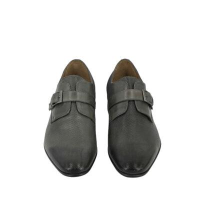 Παπούτσια Monk Strap Γκρι