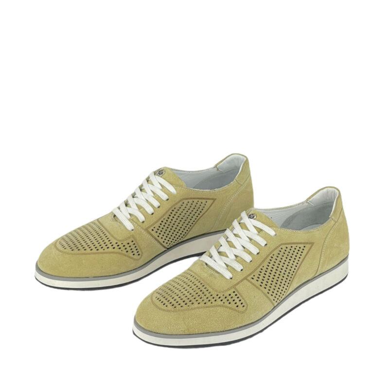 Παπούτσια Sneakers Λαδί