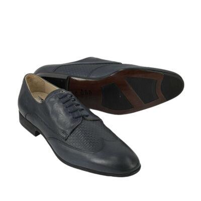 Παπούτσια Wing Tip Μπλε