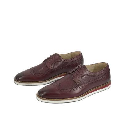 Παπούτσια Brogue Μπορντό