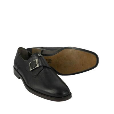 Παπούτσια Monk Strap Μαύρα 900-90-6200-9128-2