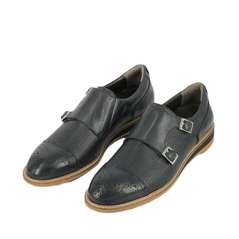 Παπούτσια Monk Strap Μπλε