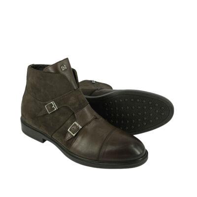 Παπούτσια Μποτάκια Καφέ 900-90-6360-9131-2