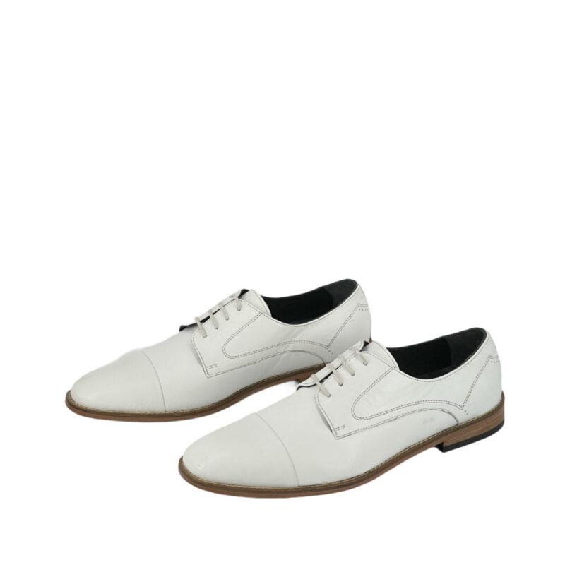 Παπούτσια Oxfords Λευκά