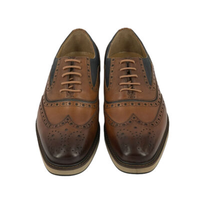 Παπούτσια Wing Tip Ταμπά