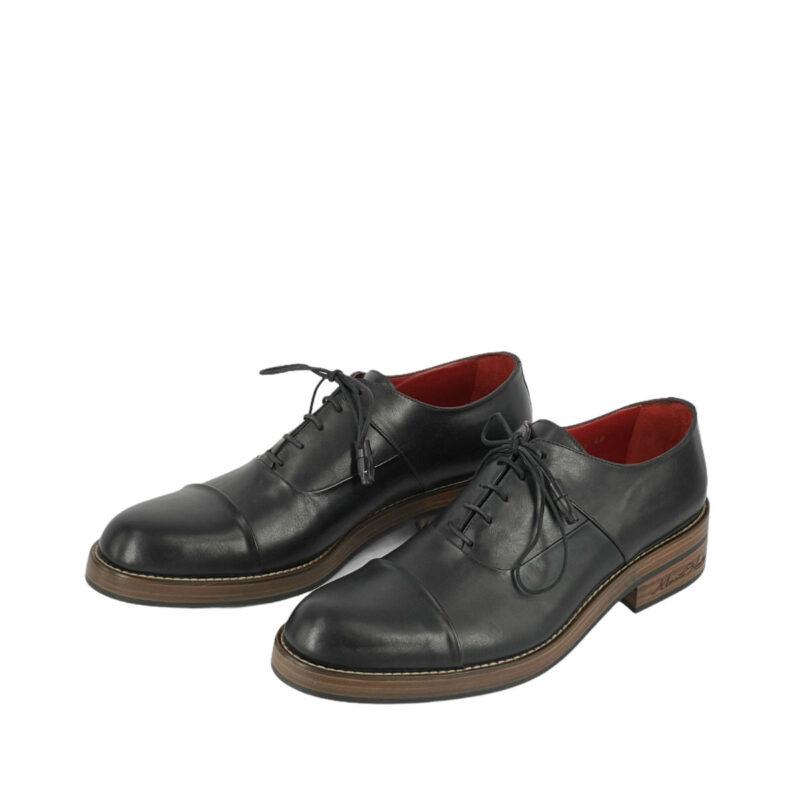 Παπούτσια Δετά Μαύρα 900-90-7150-9154-1