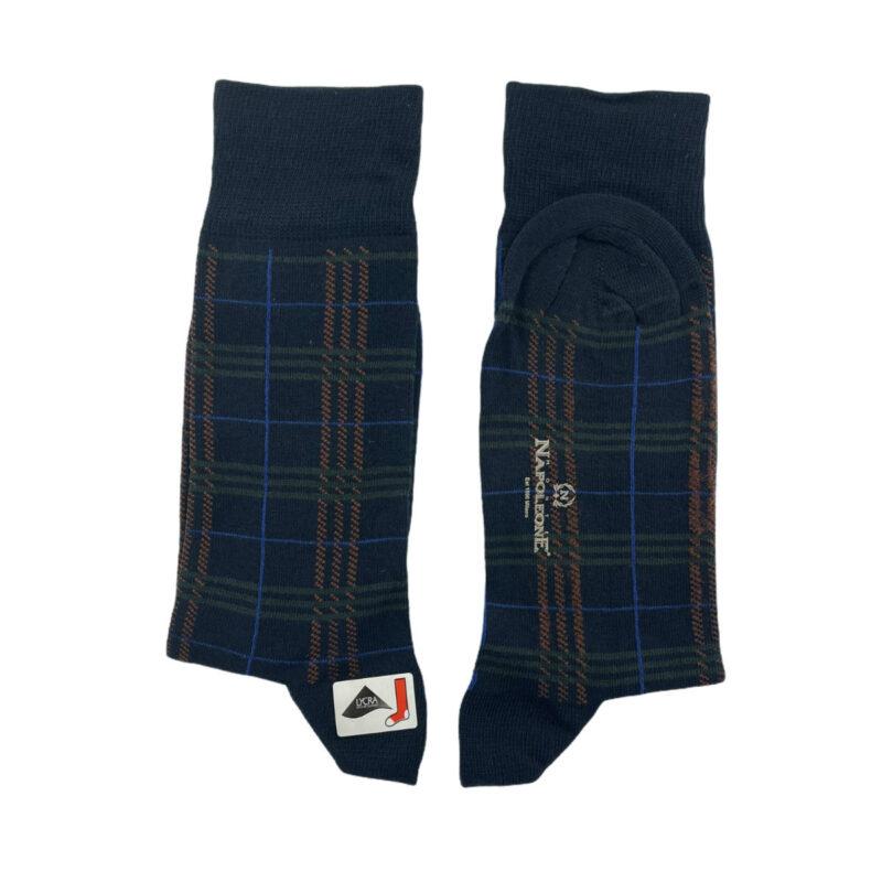 Κάλτσες Μπλε - Λαδι Jacquard