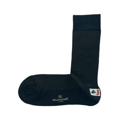 Κάλτσες Μπλε - Καφέ Jacquard