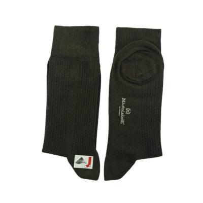 Κάλτσες Καφε Jacquard